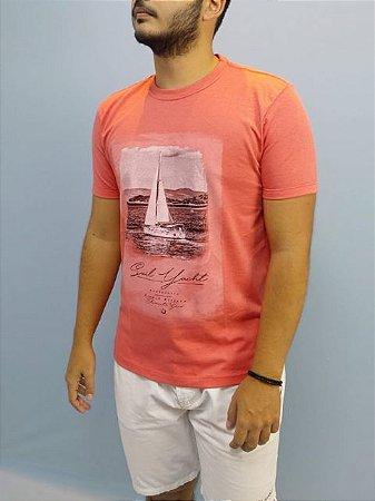 Elemento Zero Camiseta Barco Sail Yacht Goiaba 201-447