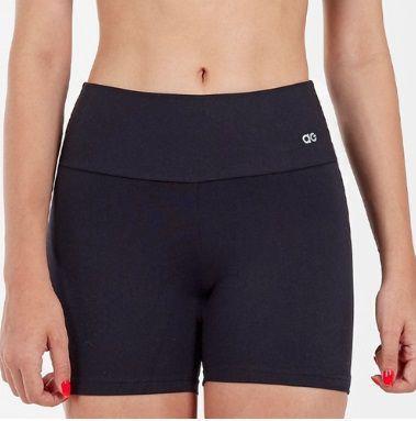 Alto Giro Short Fitness Preto - 101018
