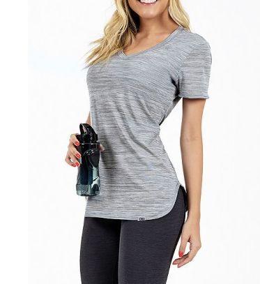Alto Giro T-Shirt Skin Fit Mescla - 2011701