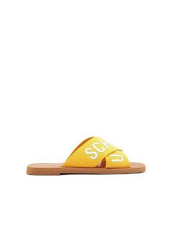 Schutz Flat Cross Amarelo - S2088900040006