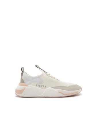 Fiever Tênis Beat Cow Suede Branco F6017200020001