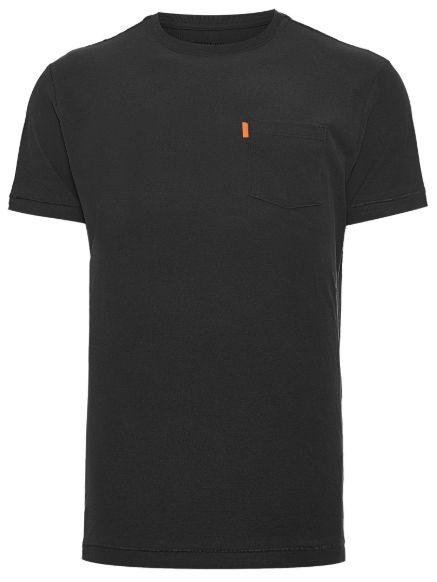 Osklen Tshirt Washed Pocket Spot Black 56804