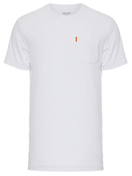 Osklen Tshirt Washed Pocket Spot White 56804