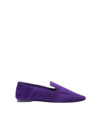 Schutz Loafer Suede Purple S2071000230022