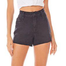 Morena Rosa Short Jeans Fem 204701 Cor Jeans