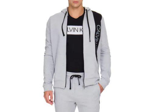 Calvin Klein Jeans Blusa Moletom Mescla Rico025