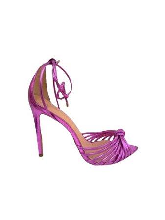 Cecconello Sandália Metalizada Pink 1495002-3