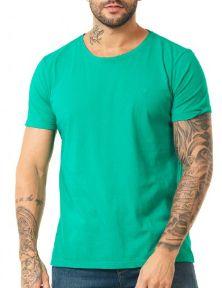 Docthos Tshirt Mc Slim Basic Verde 623436946