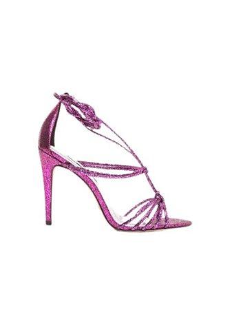 Cecconello Sandália Metalizado Pink Craquelado 1506006-3