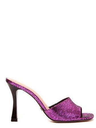 Cecconello Tamanco Metalizado Pink 1524001-4
