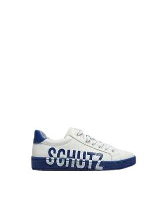 Schutz Tênis Logomania White / Blue  S2101200200002