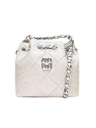 Schutz Bucket Bag Precious White S5001813350003