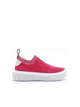 Schutz Sneaker It Schutz Bold Knit Pink S2092000010042