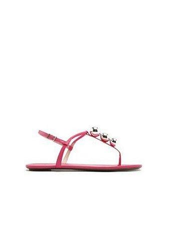 Schutz Sandália Strings Metallic Pink S0116801610002