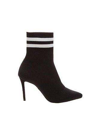 Schutz Sock Boot Baixo Black S0172302830003
