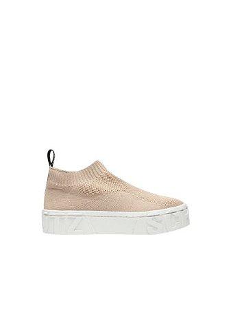 Schutz Sock Sneaker Knit Nude S2111700040004