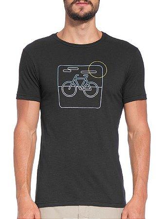 Osklen T-Shirt Organic Rough Bike Neon 55936