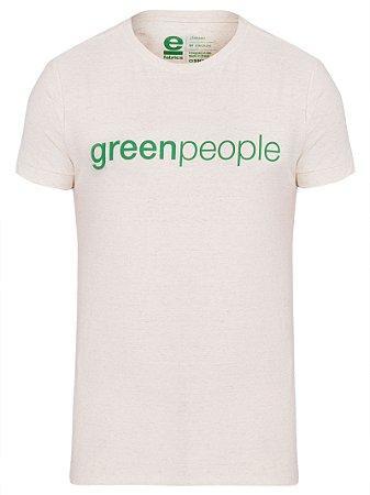 Osklen T-Shirt Canhamo Green People 58324