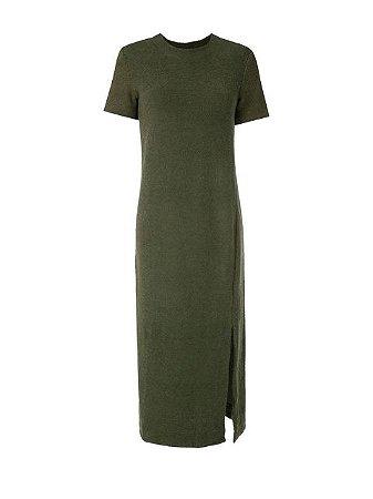 Osklen Vestido Midi Militar 57796