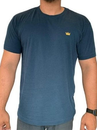 Osklen T-Shirt Mini Crown Marinho 61394