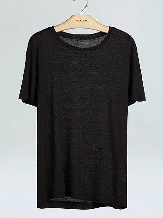 Osklen T-Shirt Supersoft Pocket Black 52365