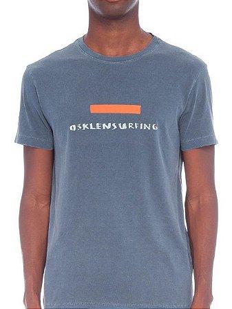 Osklen T-Shirt Stone Vintage Tape Marinho 60963