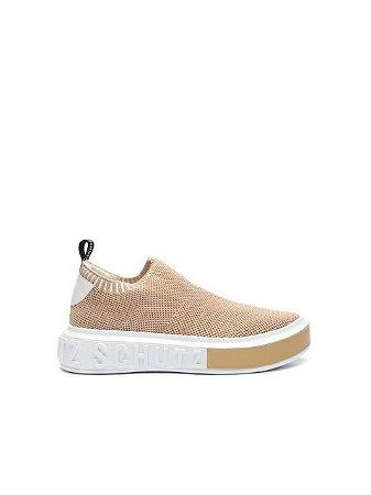 Schutz Sneaker It Bold Knit Neutral S2092000010030