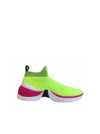 Schutz Tênis The Duo Knit Neon S2102800020015