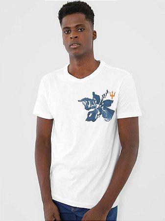 Osklen T-Shirt Stone Watercolor Flower 61904