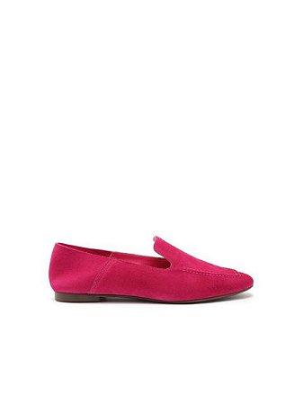 Schutz Loafer Suede Pink S2071000230009