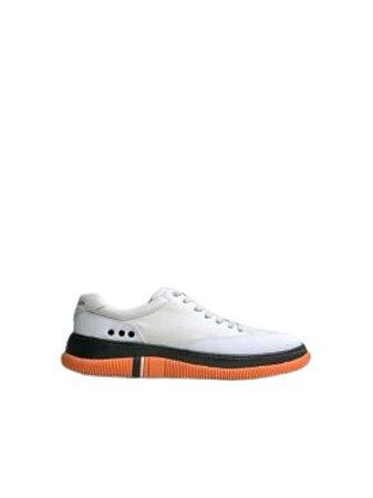Osklen Tênis Hybrid Off White/Orange 59670