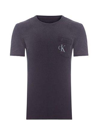 Calvin Klein Jeans Camiseta Ck Chumbo TC766