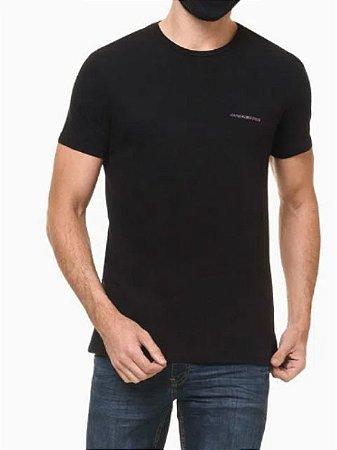 Calvin Klein Jeans Camiseta Est With Love Black TC043*