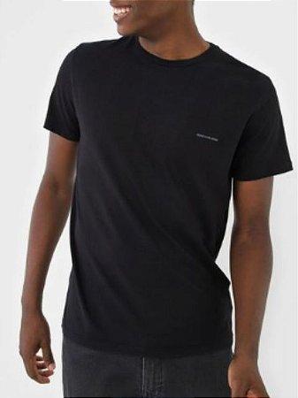 Calvin Klein Jeans Camiseta Basic Preto TC832