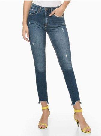Calvin Klein Jeans Calça Jeans High Rise Slim DF144