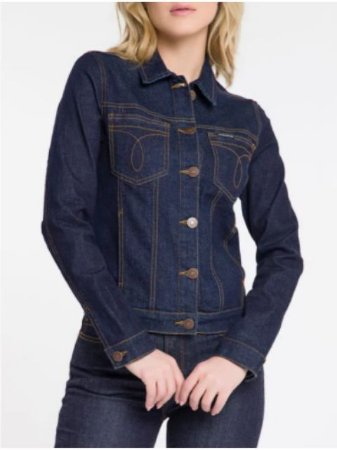 Calvin Klein Jeans Jaqueta Fem Slim OJ497