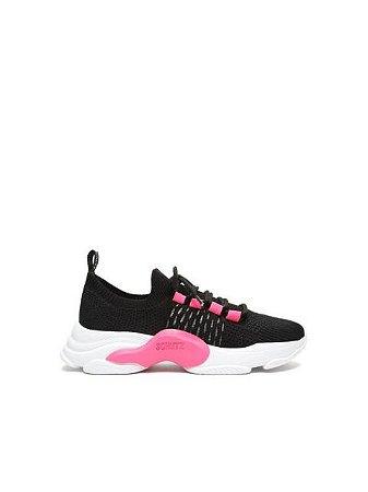 Schutz Tênis Rush Black/Pink S2113400070001