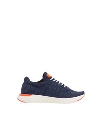 Calvin Klein Jeans Tênis Runner Liso Marinho TE927