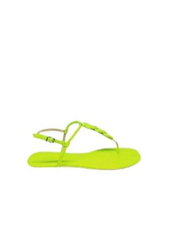Schutz Flat Strings Triangle Green S0116801970003