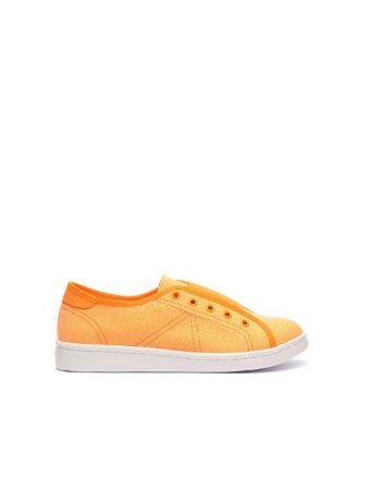 Schutz Sneaker Canvas Ultralight Laranja Neon S2022601400004
