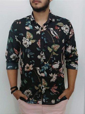 Docthos Camisa Floral 605639386