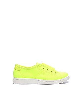 Schutz Sneaker Canvas Ultralight Amarelo Neon S2022601400005