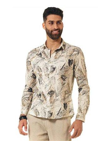 Docthos Camisa Malha Estampado Natural 605439295