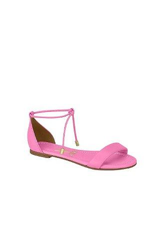 Vizzano Flat Amarração Pink 6235.1150