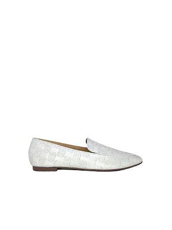 Schutz Loafer Emblem White S2071001540004