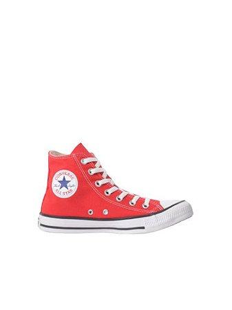 Converse All Star Tênis Chuck Taylor Cano Alto Vermelho CT00040004