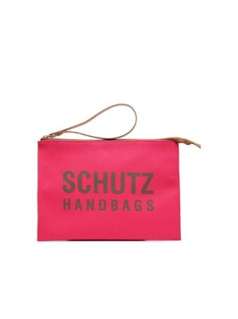 Schutz Clutch Lona Pink S5001001220004