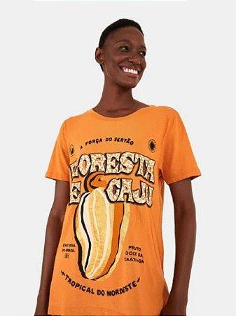 Farm T-Shirt Floresta de Caju Ocre 293912