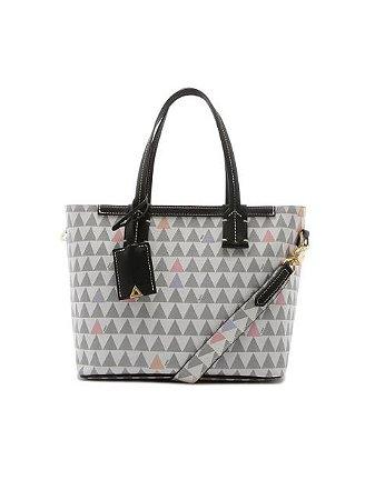 Schutz Mini Shopping Bag Neo Nina New Triangle White S5001811870002