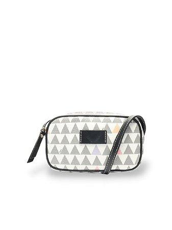 Schutz Bolsa Tiracolo New Mini Kate Triangle White S5001506090002